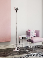 Zuo Modern Neutrino Floor Lamp Chrome
