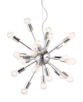 Pulsar Ceiling Lamp in Chrome | Zuo