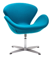 Pori Occasional Chair in Blue | Zuo