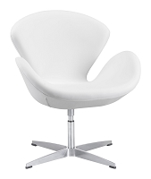 Pori Occasional Chair in White | Zuo