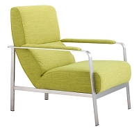 Jonkoping Arm Chair in Lime | Zuo