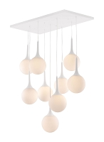 Epsilon Ceiling Lamp in White | Zuo
