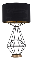 Delancey Table Lamp in Black | Zuo