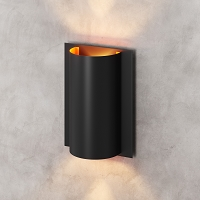 Zuo Modern Metal Wall Lamp Black