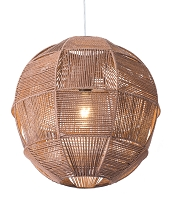 Florence Ceiling Lamp in Brown | Zuo