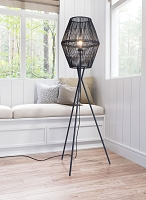 Zuo Modern Billie Floor Lamp Black