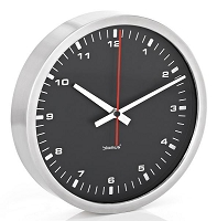 Era Wall Clock Black 12 inch | Blomus