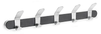 Venea Coat Rack Black | Blomus