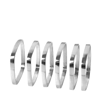 Fino Napkin Nickel Rings | Blomus