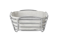 Delara Wire Serving Basket Moonbeam Large | Blomus