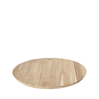 Borda Cutting Board Oak Round | Blomus