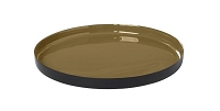 Viso Tray Dull Gold Small | Blomus