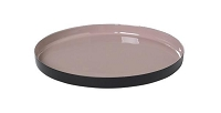 Viso Tray Rose Dust Large | Blomus