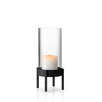Nero Hurricane Candle Holder Medium | Blomus