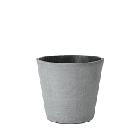 Coluna Flower Pot Dark Gray 7 x 6 | Blomus