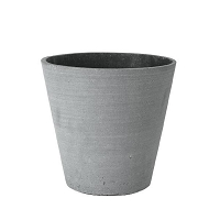 Coluna Flower Pot Dark Gray 9 x 10 | Blomus