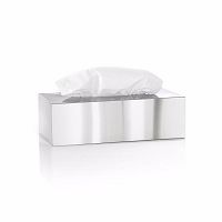 Nexio Tissue Box Polished | Blomus