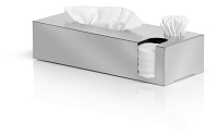 Nexio Tissue Box Dispenser Cotton Buds Pads | Blomus
