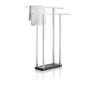 Menoto Towel Rack Wide Polished | Blomus