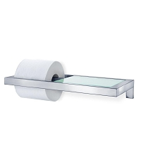Menoto Wall Mounted Toilet Paper Holder Shelf | Blomus