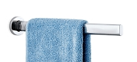 Areo Towel Rail Polished 18 inch | Blomus