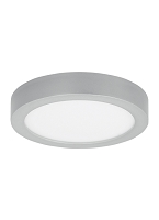 Tenur 10 Round Silver Ceiling Light | Tech Lighting