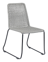 Carlo Dining Chair in Black and Gray set of 2 | Zuo