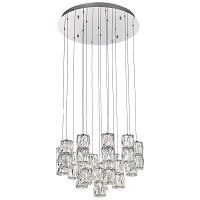 PLC Lighting Miramar 16 Light LED Pendant