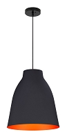Bronze Ceiling Lamp in Matte Black | Zuo