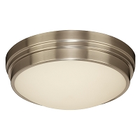 PLC Lighting Turner LED Ceiling Satin Nickel