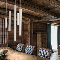 A-Tube Medium Suspension Light | Lodes