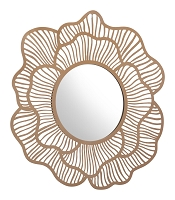 Ketu Mirror in Gold | Zuo