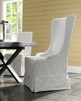 Atlantic Beach Wing Dining Chair | Padma's Plantation