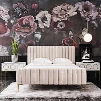 Tov Furniture Angela Blush Bed in King