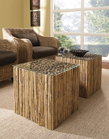 Bamboo Stick Bunching Table | Padma's Plantation