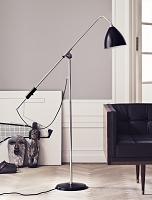 Gubi BL4 Floor Lamp 21 Chrome
