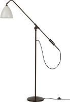 Gubi BL4 Floor Lamp 21 Black Brass