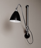Gubi BL5 Wall Lamp 16 Chrome