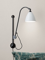 Gubi BL5 Wall Lamp 16 Black Brass