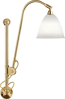 Gubi BL5 Wall Lamp 16 Brass