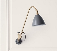 Gubi BL6 Wall Lamp 16 Brass