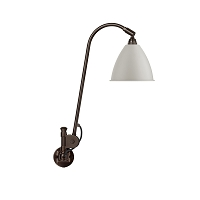 Gubi BL6 Wall Lamp 16 Black Brass