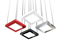 Quadra Square LED Pendant | Blackjack Lighting