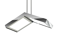 Quadra Double LED Pendant | Blackjack Lighting