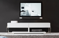 Agent TV Stand all White | B-Modern