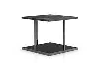 Adagio End Table Black Marble | B-Modern