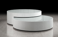 Rondo Coffee Table White | B-Modern