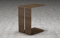 Scherzo Nesting Table Walnut | B-Modern