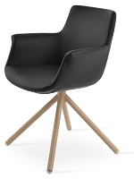 Bottega Stick Armchair Leather | Soho Concept