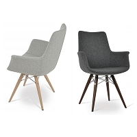 Bottega MW Arm Chair HB | SohoConcept